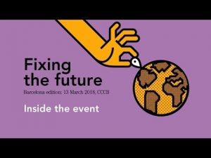 Fixing the Future a Barcelona, dies 7 i 8 de juny
